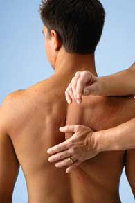 Rolfing for Middle Back Pain